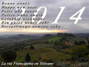 La via Francigena en Toscane