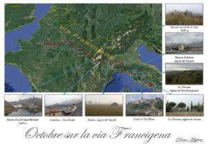 Octobre sur la via Francigena