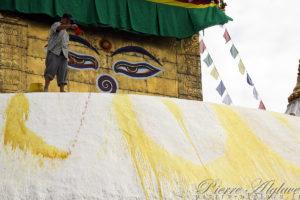 Temple de Swayambhunath à Katmandou