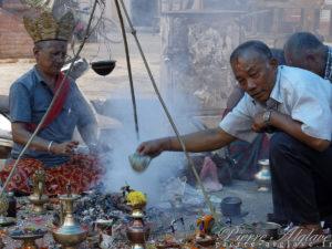 Offrandes - Katmandou