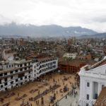 Katmandou vu du haut du Palais royal