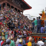 Le défilé de la Kumari