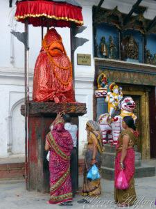 Hanuman, le général des singes - Katmandou