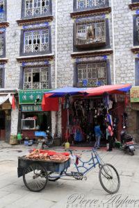Quartier du Barkhor à Lhassa