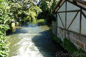Moulin Goujon sur la Juine à Lardy