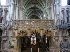 Église de la Madeleine, le jubé