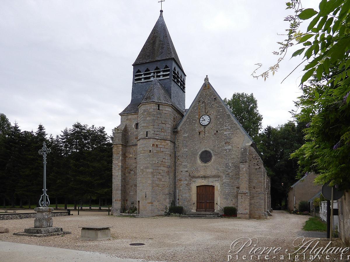 La Chapelle-sur-Oreuse - Eglise Saint-Laurent