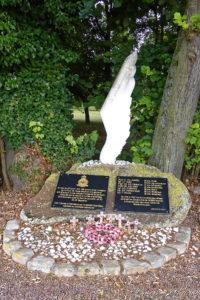 Mémorial d'un crash pendant la guerre