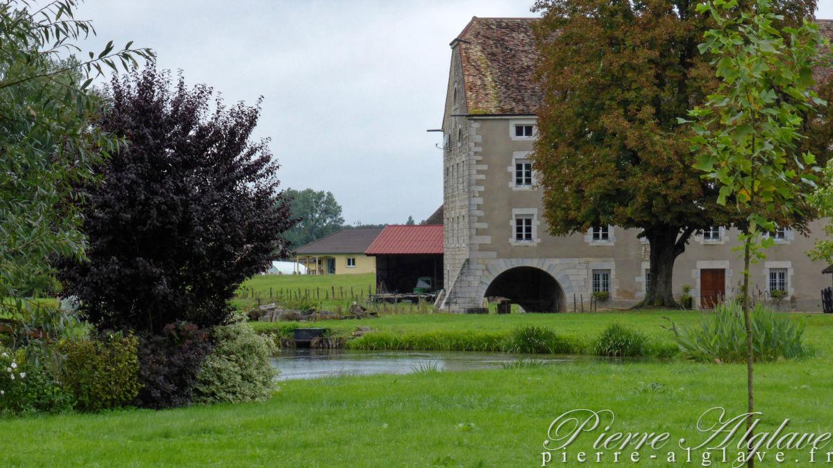 Le moulin sur la Morthe à Citey