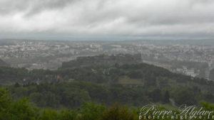 La citadelle vue depuis la Chapelle des Buis