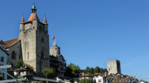 Orbe - L'église hôpital - Château