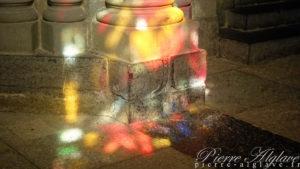 Jeu de lumières dans la Cathédrale