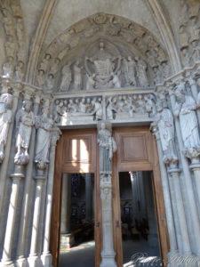 Lausanne - Cathédrale - Portail MontfalconaLausanne - Cathédrale - Portail Montfalcon