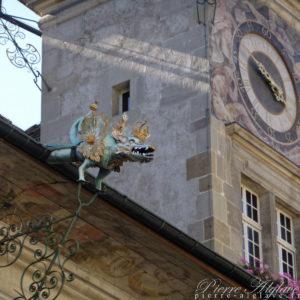 Lausanne - Palais de Justice - Détail