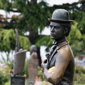 Charlie Chaplin - Vevey
