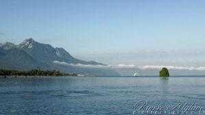 Île de Peilz au large de Villeneuve