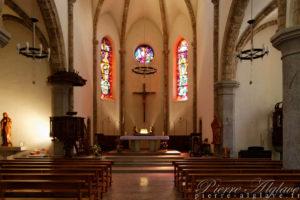 Orsières, l'église