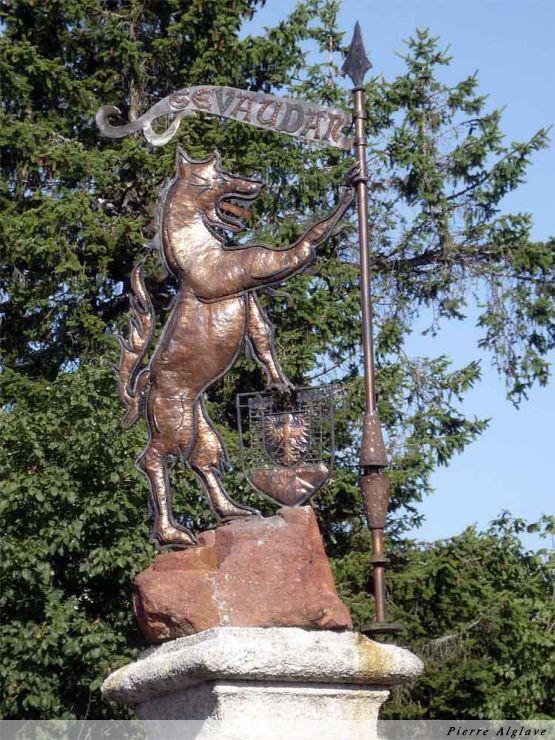 La bête du Gévaudan à Aumont-Aubrac