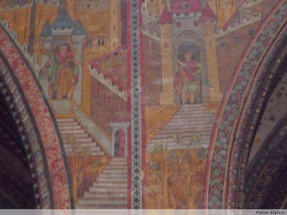 Cahors, dans la cathédrale