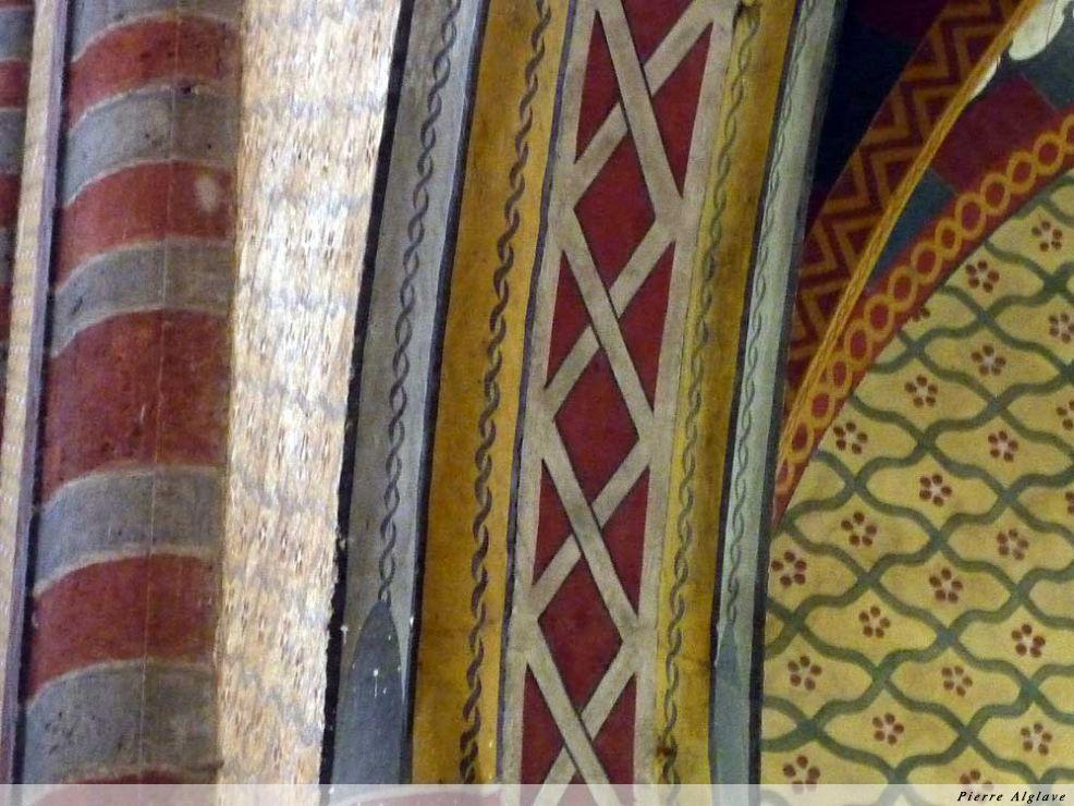 Moissac : couleurs dans l`abbatiale