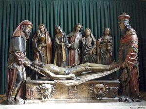 Moissac - Mise au tombeau