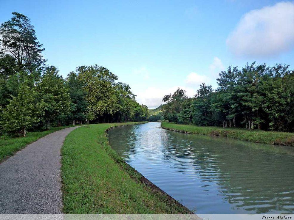 Le canal de la Garonne