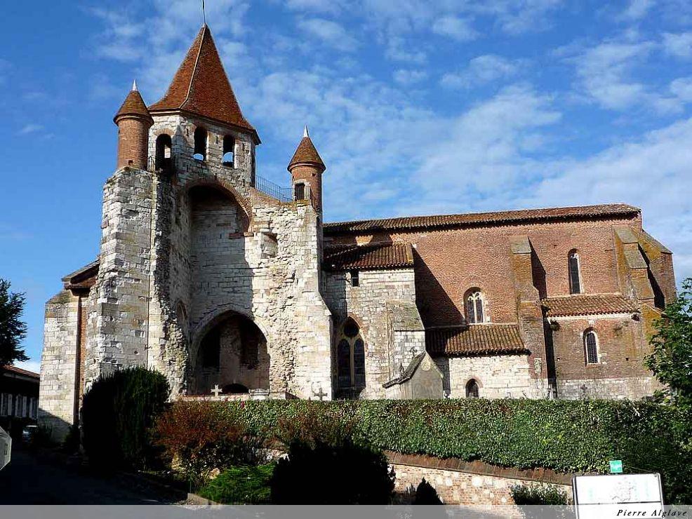 Auvillar, église saint Pierre
