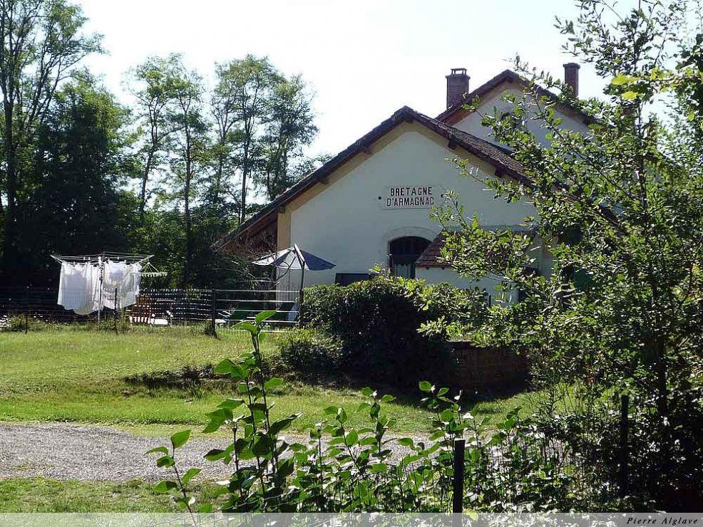 Ancienne gare de Bretagne-Armagnac
