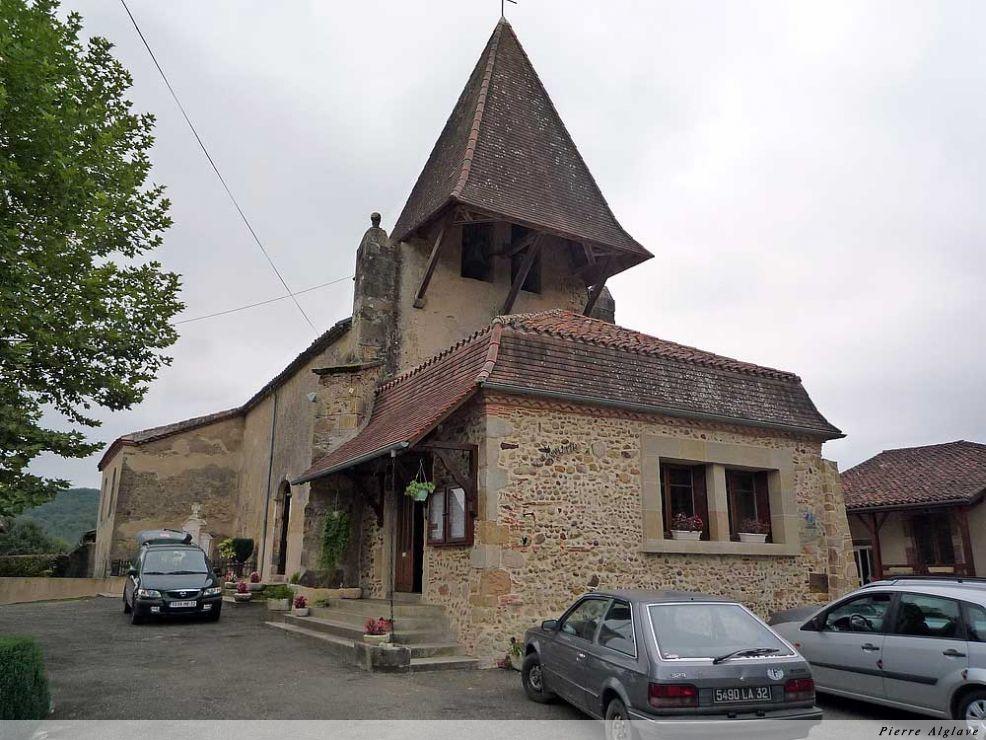 Lilen, mairie et église