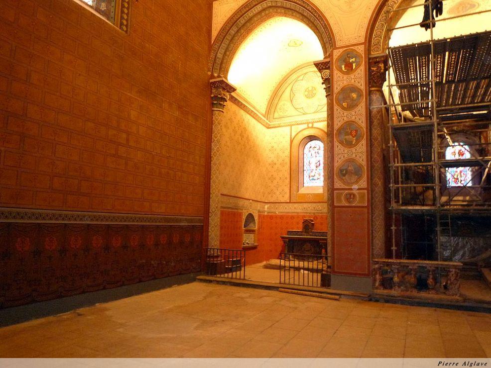 Restauration de la cathédrale - Aire-sur-l`Adour