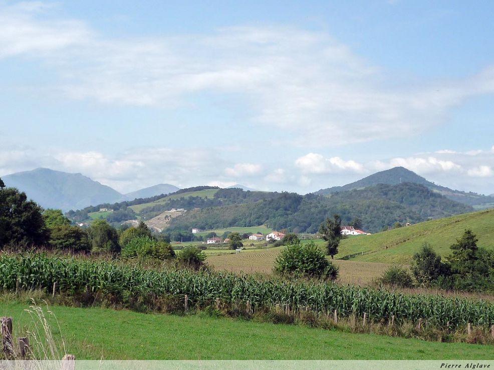 Au loin les Pyrénées