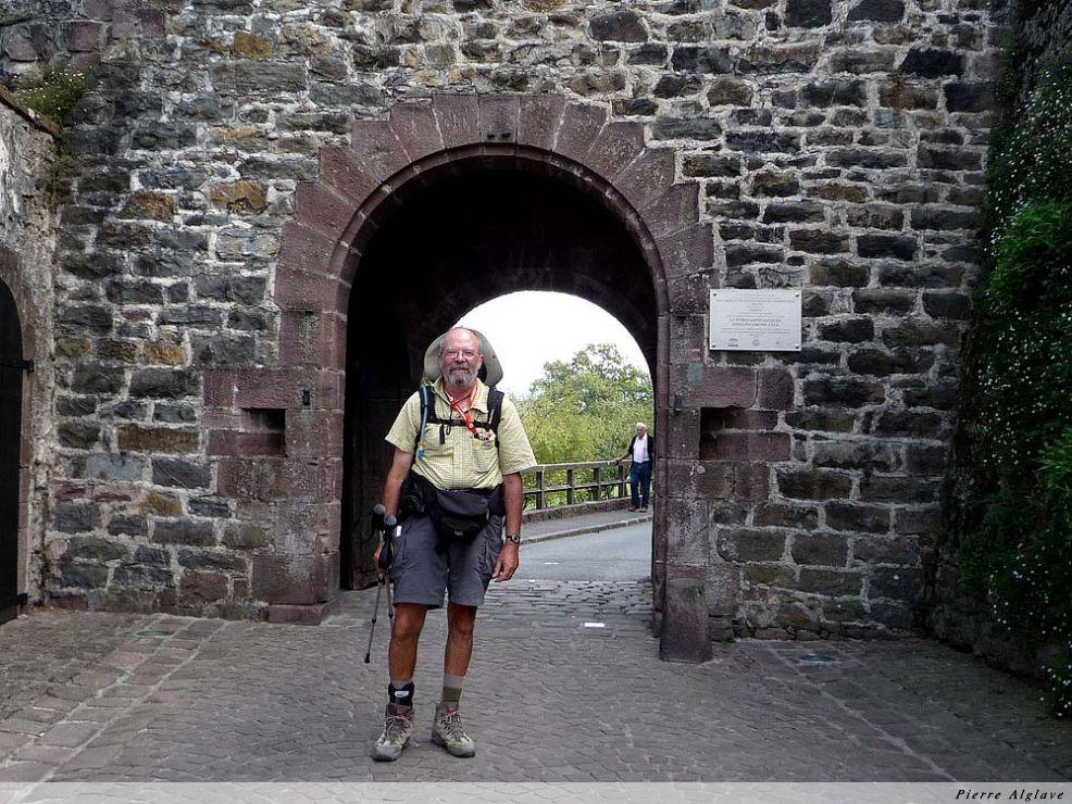 La porte Saint-Jacque à Saint-Jean-Pied-de-Port