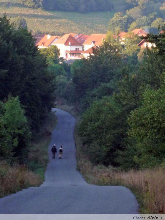 Le chemin, sur route