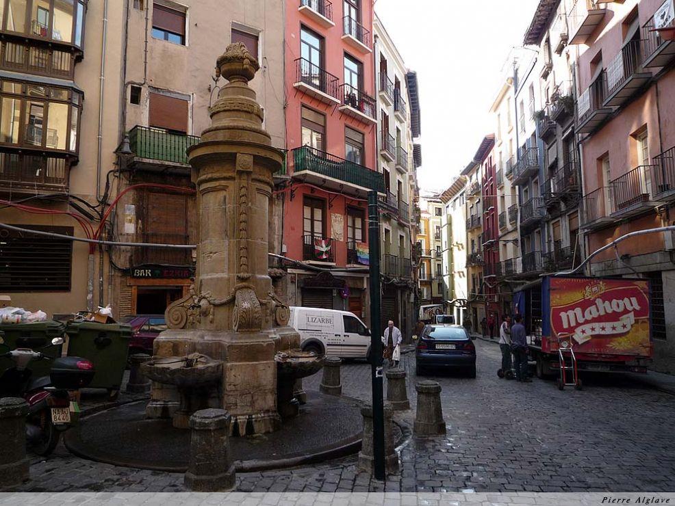 Pampelune : la vielle ville