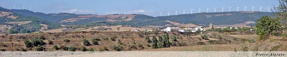 Uterga, éoliennes