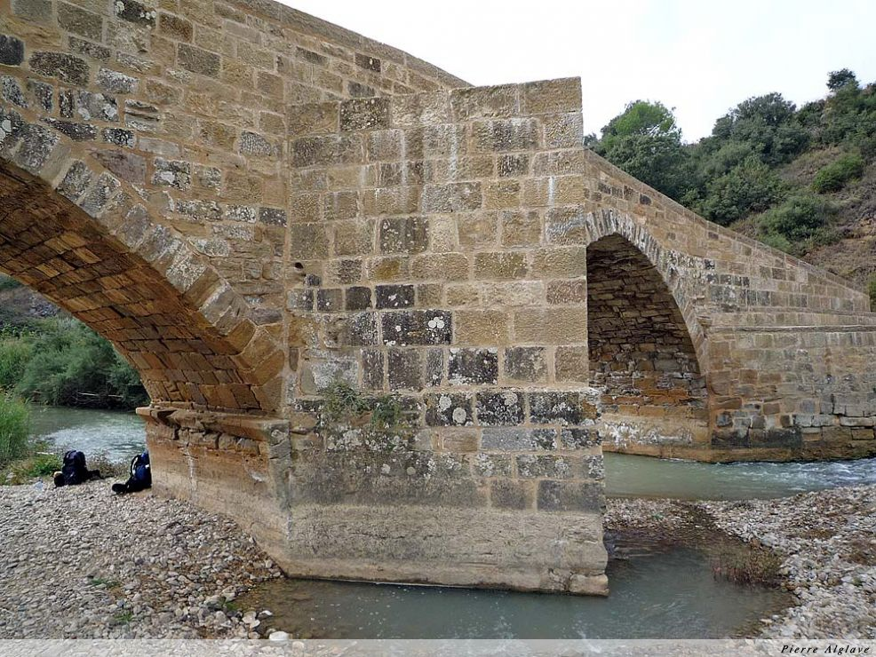 Pont médiéval au dessus du rio Salado