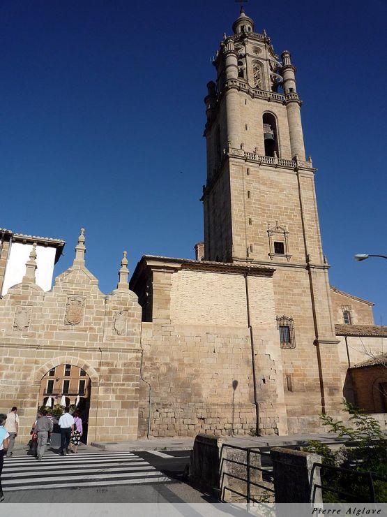 Los Arcos - Cathédrale Santa Maria