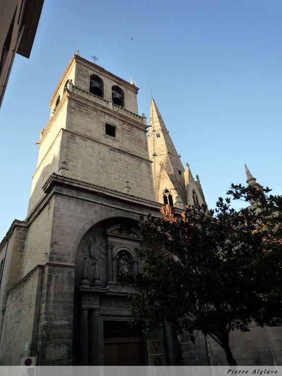 Logroño, église Santa Maria de Palacio, el aguja