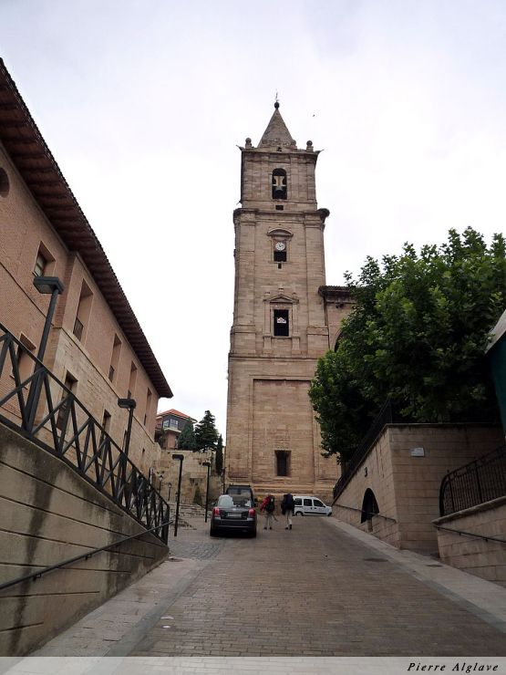 Navarrete, église de la Asuncion