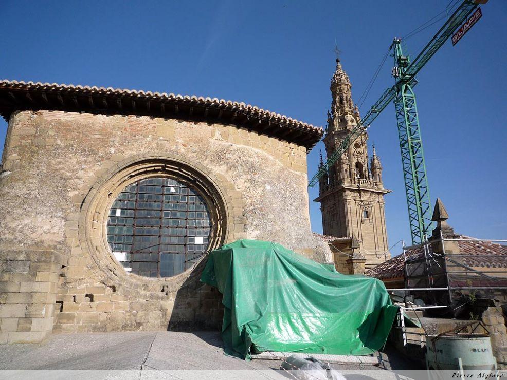 Santo Domingo de la Calzada, vu du toit de la cathédrale