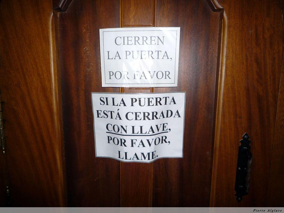 Santo Domingo de la Calzada, attention !