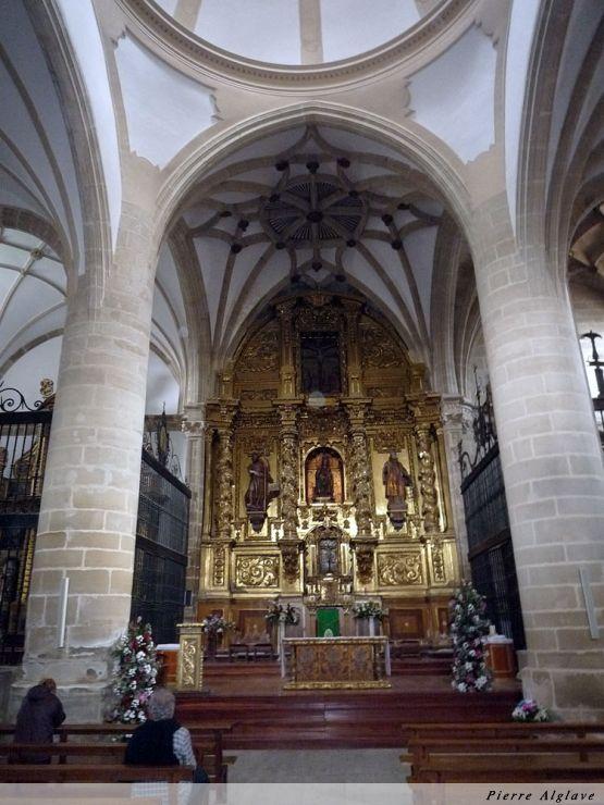 Belorado, église Santa Maria à côté du refuge