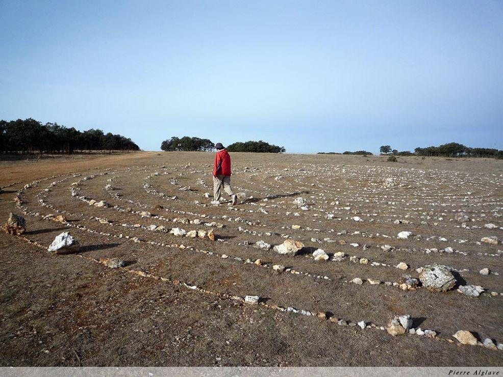 Plateau de Matagrande, cercles de pierres