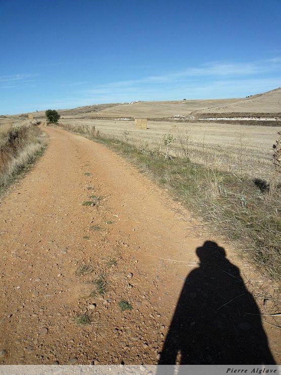 Le chemin vers Hornillos del Camino