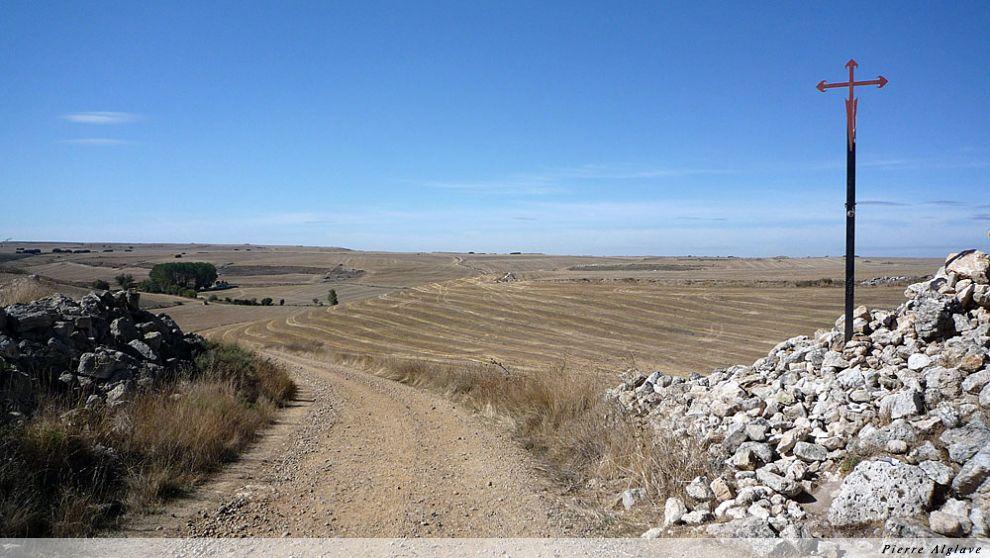 Le chemin vers Castrojeriz
