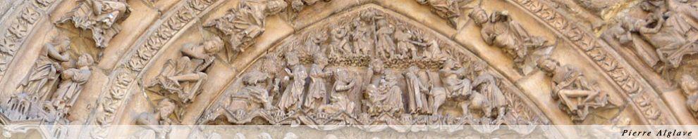 Leòn, détail du porche de la cathédrale