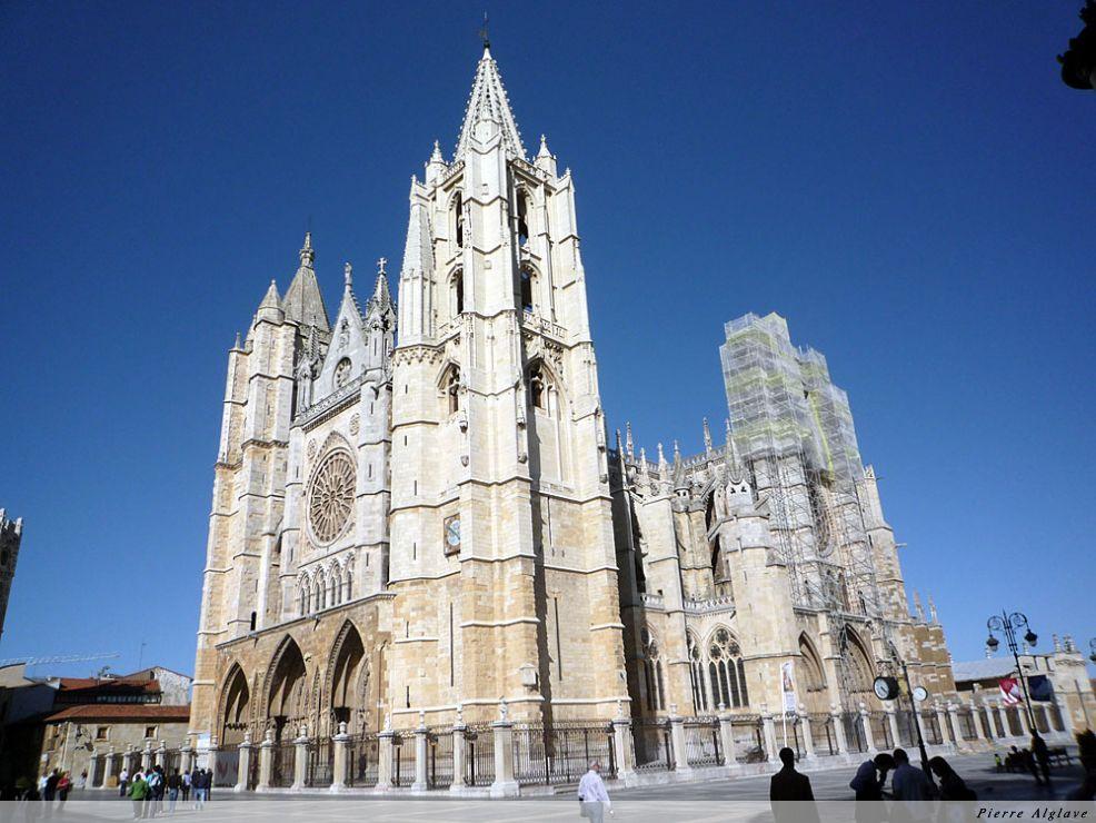Leòn la cathédrale