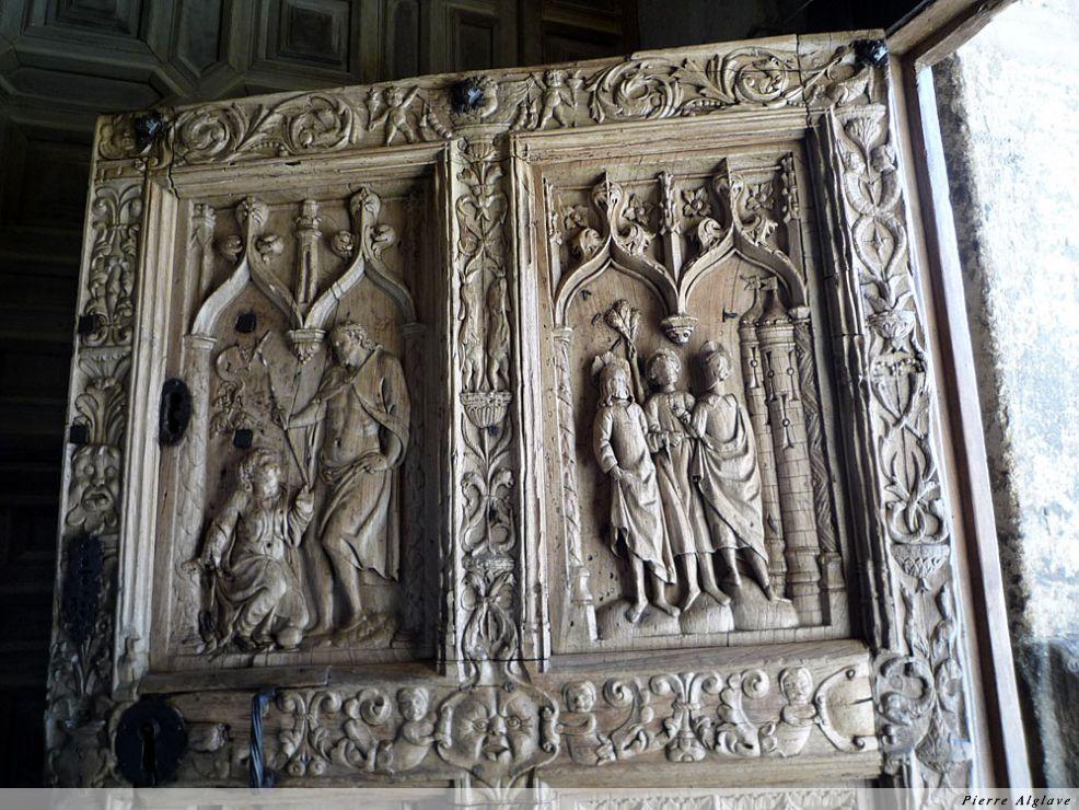Leòn, détail de la porte de la cathédrale