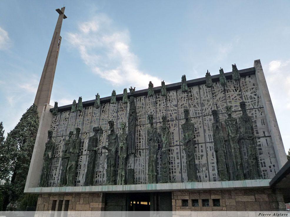 La Virgen del Camino - façade