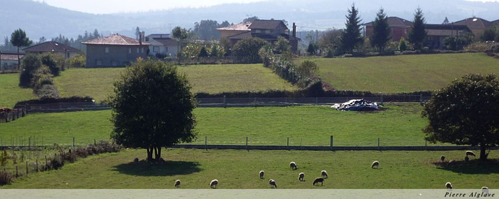 La campagne galicienne